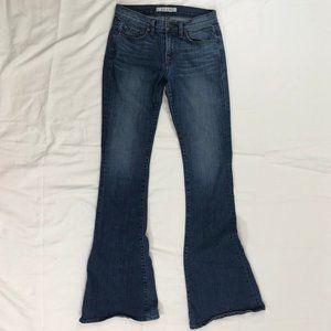J Brand Boho Bell Bottom Flare Jeans
